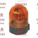 Gyrophare sur socle 12V