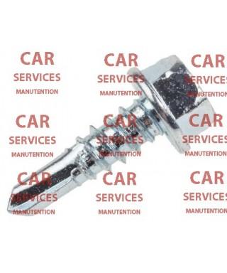Vis autoforeuse tête Rondelle hexagonale RS PRO Acier, Galvanisé brillant