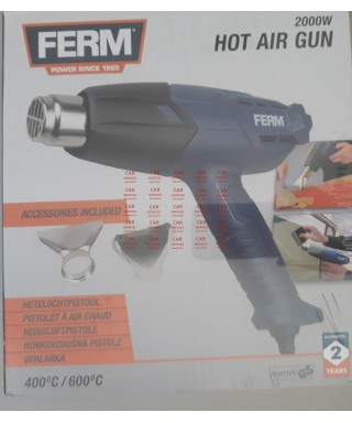 PISTOLET A AIR CHAUD FERM