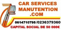 Car Services Manutention EURL Capital de 50 000,00 Euros