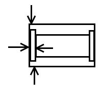 Diamètre extérieur galets chariots élévateurs